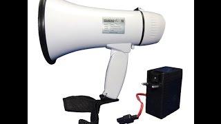 Ручной мегафон РМ-10СЗ обзор(, 2015-09-10T15:24:43.000Z)