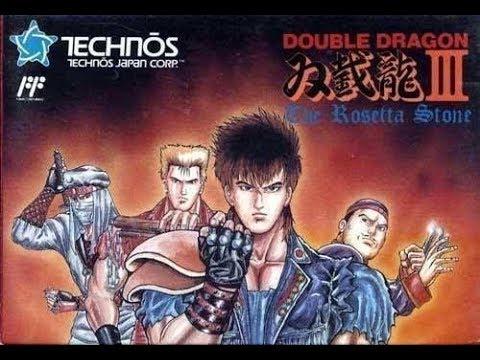 Double Dragon 3: The Rosetta Stone - Nes Remix - Playthrough (Openbor)