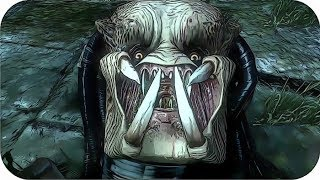 Facehugger Deaths in Aliens vs Predator Games [REMAKE]
