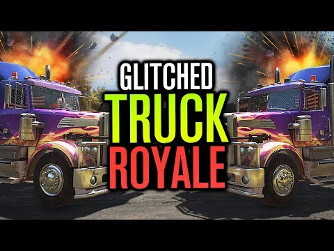 GLITCHED TRUCK ROYALE!? | Far Cry 5 Co-op