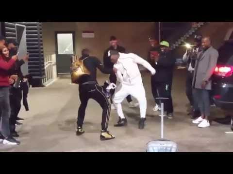 PAUL POGBA DANCING WITH HIS TWINBROTHER - Afrodance • Netherlands vs France 0-1 (POGBA GOAL)