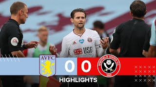 Aston Villa 0 0 Sheffield United Premier League Highlights Var Hawkeye Controversial Non Goal Youtube
