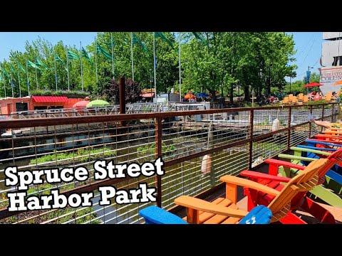 Spruce Street Harbor Park 2019 | Summer In Philadelphia | Best Park For Adults