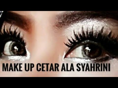 Makeup Cetar Ala Syahrini Tutorial Youtube
