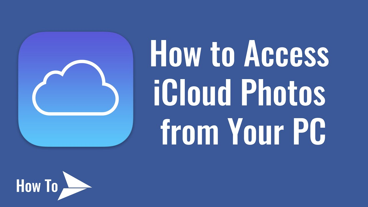 how to download photos from icloud to pc youtube