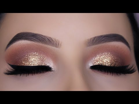 Thumbnail: Classic Brown Glitter Eye Makeup Tutorial