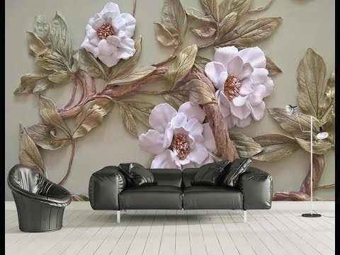 5D Mural Wallpaper for bedroom, living room & TV cabinet