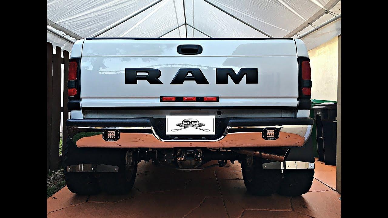 How To Customize Dodge Ram 1994 2002 Part 9 Rear Bumper