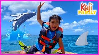 Ryan's Mom Birthday Snorkeling Surprise!!