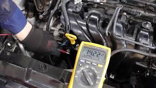 발전기 출력 전압 측정_자동차제어및진단기술 전공