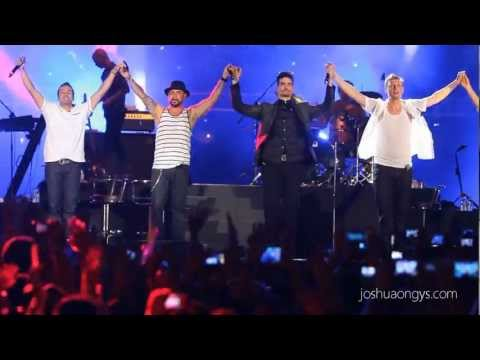 [HD] Everybody (Backstreet's Back) - Backstreet Boys at 2013 Twin Towers Alive Concert