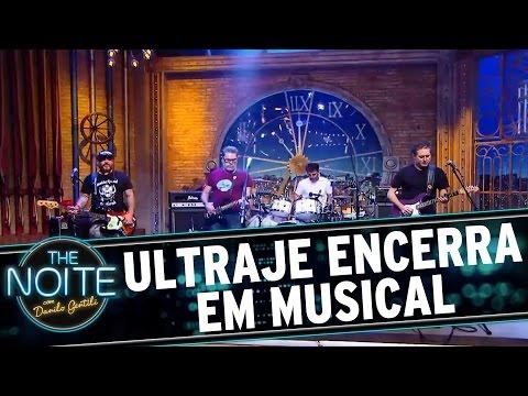 The Noite (13/07/16) - Ultraje a Rigor encerra o programa com musical