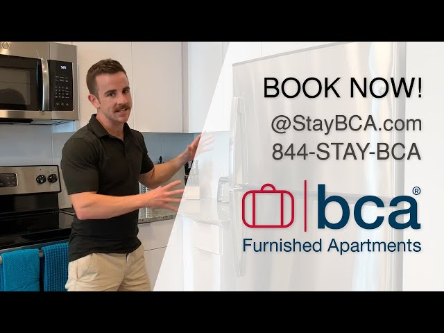 Apartment Tour - Spectacular Suites by BCA Furnished Apartments - Atlanta Corporate Apartments