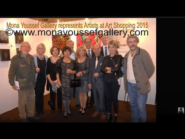 Mona Youssef Gallery & memories of Art Shopping, 2015,
