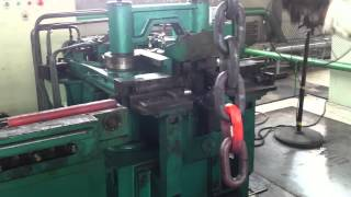 Semi automatic Anchor Chain making machine 01