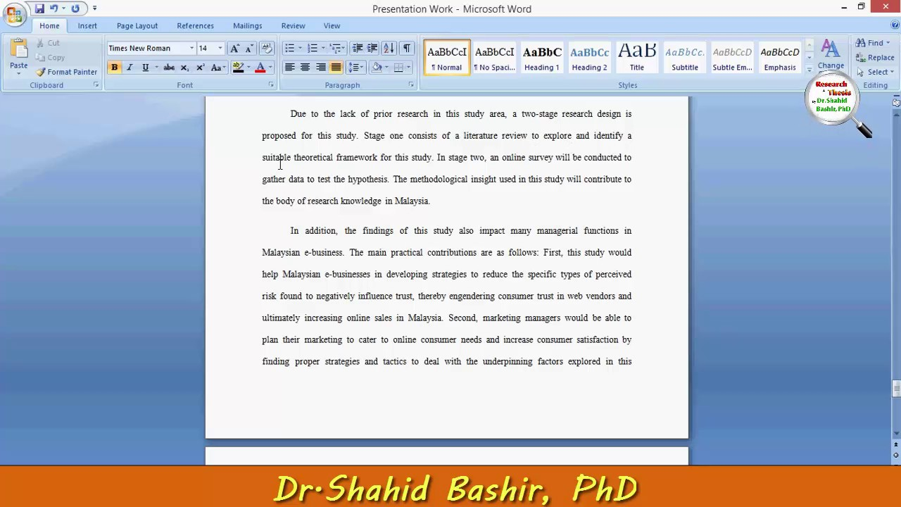 How to write dr and phd