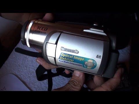 Camara Panasonic Pv-gs320 3ccd Mini-dv 2.7 Lcd 3.1mp