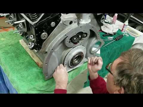 Engine Rebuild Silver Cloud 3 - Part 4 - Dist  Drive, Oil Pick Up, Pan, and Fly Wheel