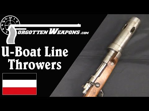 German U-Boat Line-Thrower Rifle Conversions