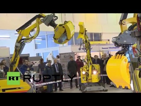 Russia: EMERCOM expo showcases advanced robotic rescue-tech in Moscow