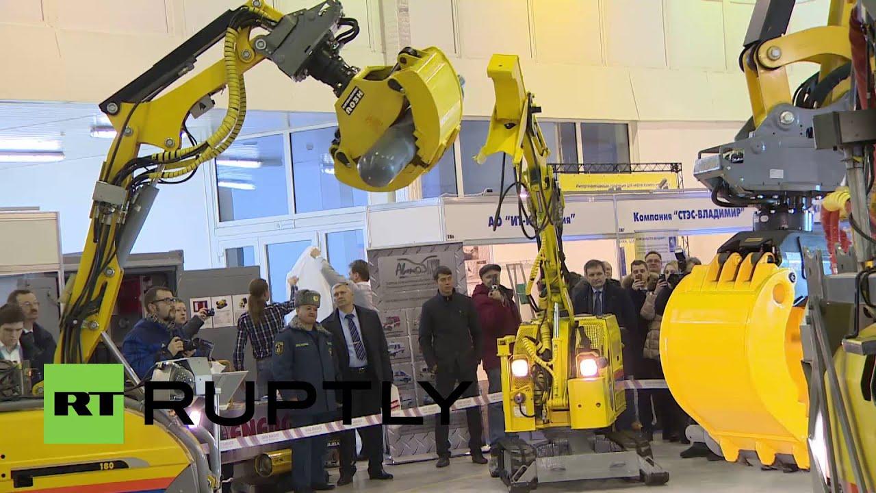 Underwater robotics of the Russian development on the forum Army-2018