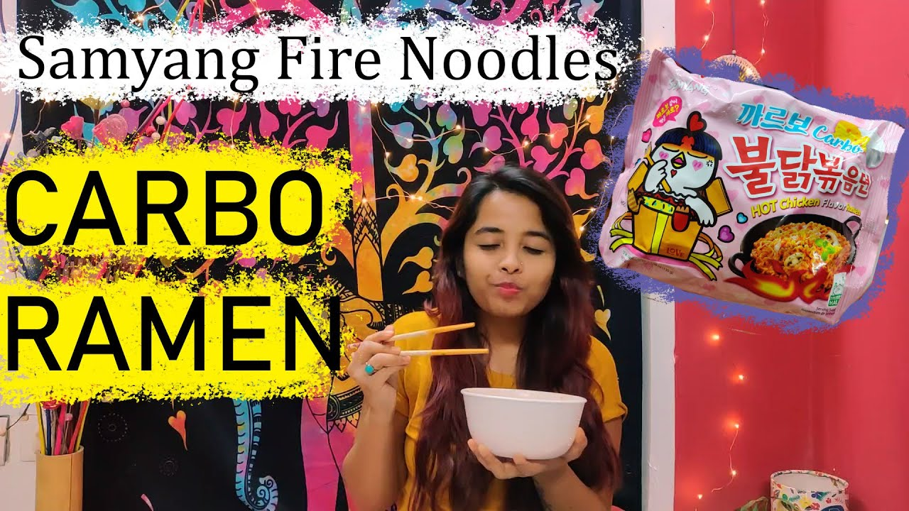 CARBO SPICY NOODLE | Samyang Carbonara | Taste Testing | Samyang spicy noodles |Ramyeon