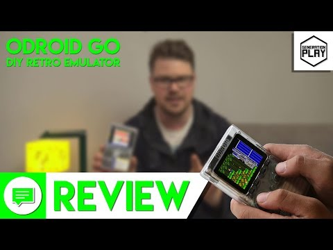 DIY Handheld Retro Emulation! ODROID GO review