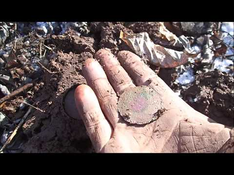 Metal Detecting In The Snow And Ice