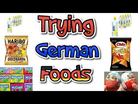 TASTING GERMAN FOODS || DELICIOUS