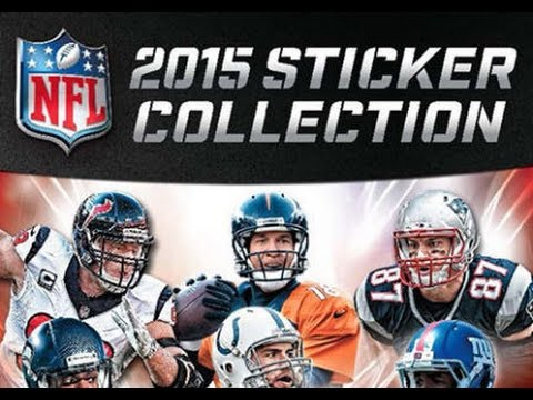 Box busters 2015 panini nfl sticker collection youtube
