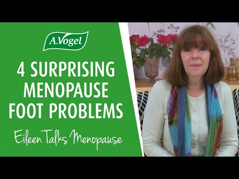 4 surprising foot problems during menopause