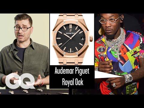 Watch Expert Critiques Celebrities' Watches (Quavo, Kanye, Rami Malek) | Fine Points | GQ