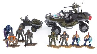 Mega Construx Halo Infinite Warthog Rally \u0026 Recon Getaway review