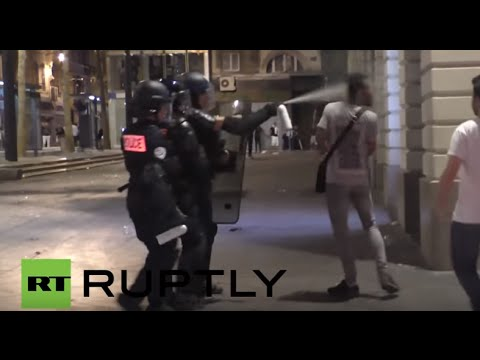 France: More than 35 injured following post-match violence in Marseille