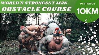 World's STRONGEST Man & 10km Obstacle Course