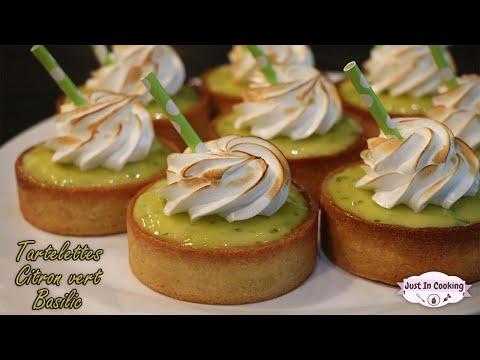 recette-de-tartelettes-citron-vert-basilic