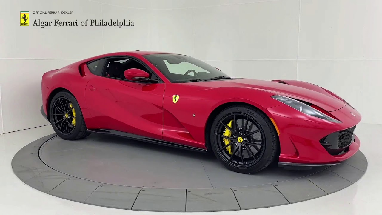 2020 Ferrari 812 Superfast Algar Ferrari Of Philadelphia Youtube