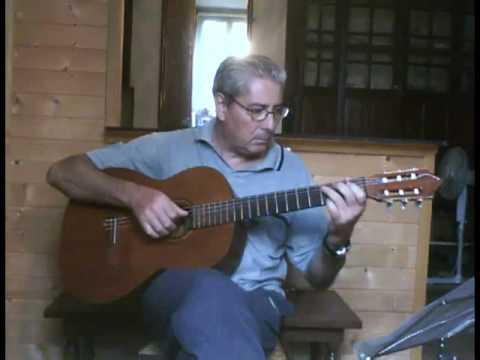 Morning has broken - for solo acoustic guitar - YouTube
