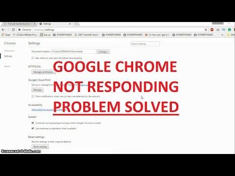 Google Chrome not responding in Windows 10: How to fix - YouTube