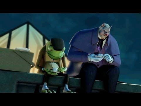 "DC Nation - Beware The Batman - ""Instinct"" (clip 1)"