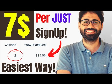 Earn 7$ / Signup | The Easiest Way To Make Money Online [2021]