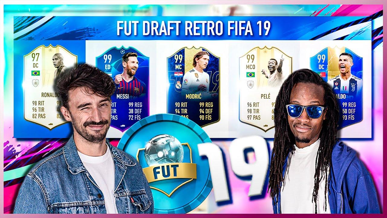 FUT DRAFT RETO FIFA 19 | SACAMOS UN 193 Y PROBAMOS EL EQUIPO