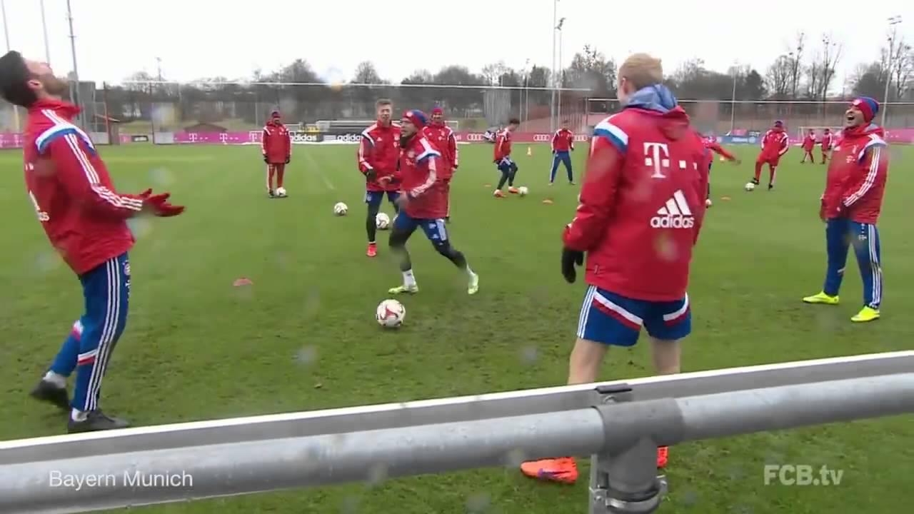 Allenamento FC Bayern München 2016