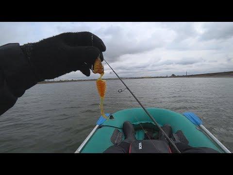 Злые судаки рвут приманки. Злой ветер не дает рыбачить. Трудовая рыбалка с лодки осенью