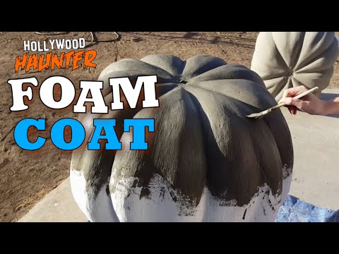How To Make Styrofoam Hard - Foam Coat For Props