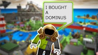 BUYING A FREE DOMINUS PRANK ON FRIENDS!! (Roblox)