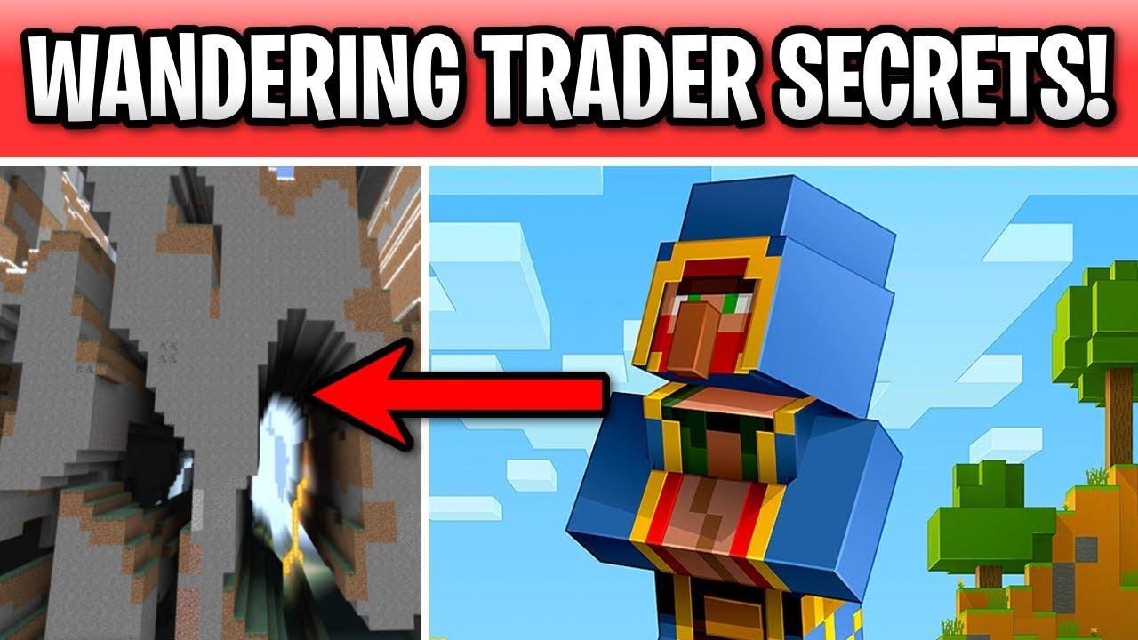 Minecraft Wandering Trader Secrets 1 14 Villager Or Youtube