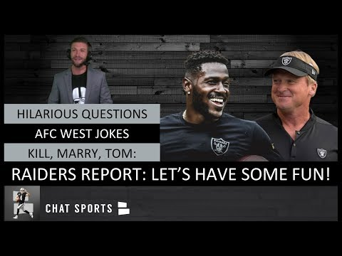 Hilarious Oakland Raiders Report Questions Afc West Jokes Getting Personal With Raider Nation Youtube