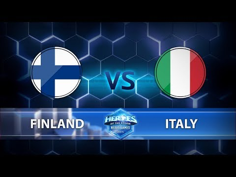 Nexus Games Europe - Group A Match 1 – Finland vs. Italy - Game 3