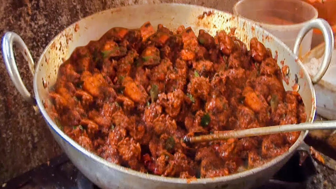 Chicken fry curry hyderabad street food street food around the chicken fry curry hyderabad street food street food around the world youtube forumfinder Image collections